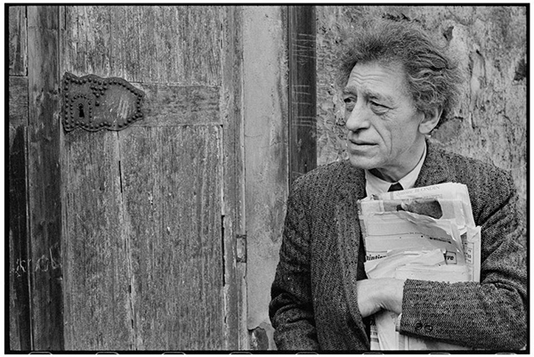 Cartier-Bresson portrait of Alberto Giacometti