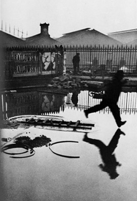 Cartier-Bresson — Behind Saint-Lazare Station, Paris, France, 1932